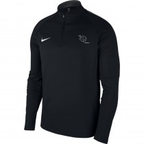 Sweatshirt training 1/4 zip Nike Academy 18