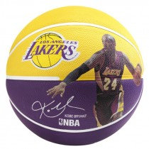 Ballon Spalding Player Kobe Bryant