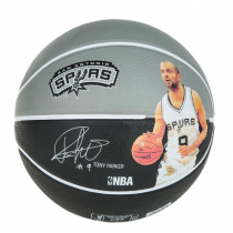Ballon Spalding Player Tony Parker
